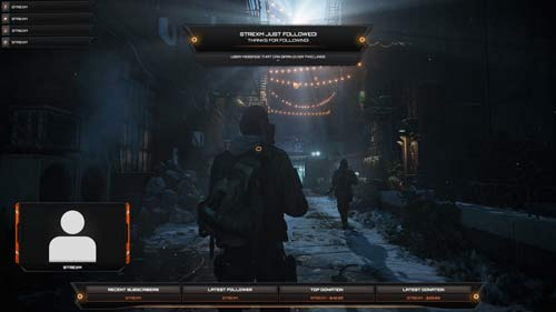 Watchdogs Overlay, Dark Zone