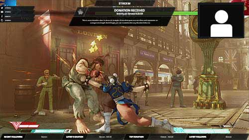 Street Fighter Overlay, Shadow